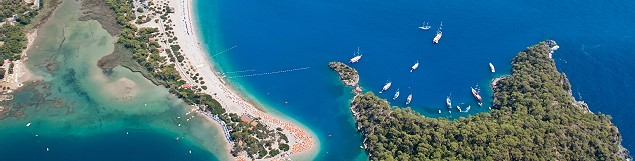 Urlaub in der Türkei, malerische Buchten und Strände …